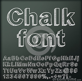 abstract-chalk-font-26753283